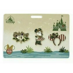 Kyпить Disney Minnie Mouse The Main Attraction Jungle Cruise Pin Set IN HAND на еВаy.соm