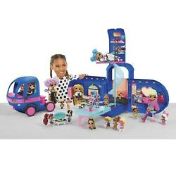 Kyпить Glamper Fashion Camper Dollhouse LOL Surprise OMG 4-in-1 with 55 Surprises Blue на еВаy.соm