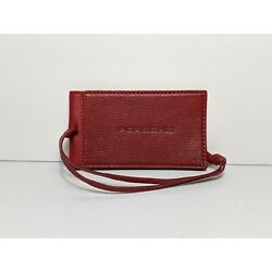 Kyпить PORSCHE track day, luggage, suitcase, bag tag, Leather, Ruby Red, Magnetic на еВаy.соm