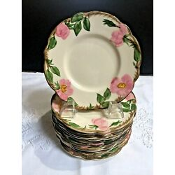 Kyпить FRANCISCAN CHINA DESERT ROSE PATTERN SET OF 12 BREAD & BUTTER PLATES на еВаy.соm
