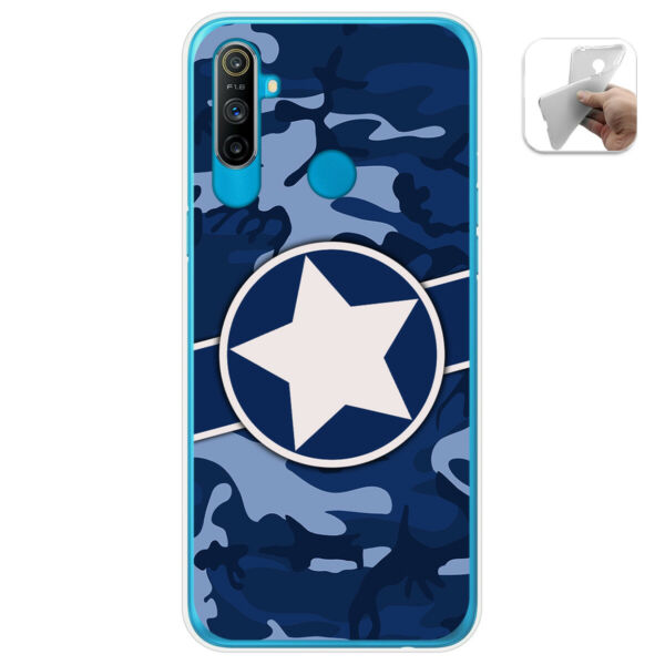 EspagneCover Gel TPU Case Cover For Realme C3 Design  03 Drawings