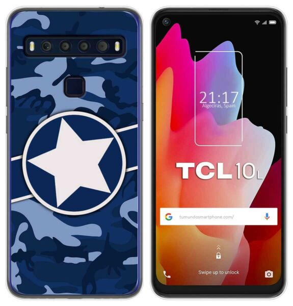 EspagneCover Gel TPU Case Cover For TCL 10L Design  03 Drawings