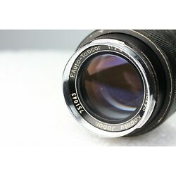 Kyпить Topcon F. Auto Topcor F/2.8 100Mm Lens Full Frame Prime Telephoto As-Is на еВаy.соm