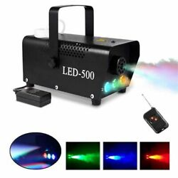 Kyпить 500W Smoke Fog Machine RGB Muti Color LED DJ Party Wedding Stage Light w/Remote на еВаy.соm