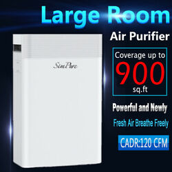 Kyпить Powerful Large Room Air Purifier Medical Grade HEPA for Home Allergies Smoke на еВаy.соm