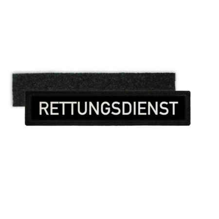 img-Patch Name Plate Rescue Service Medic Ambulance Dienst Krank #30063