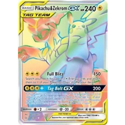 Kyпить Pikachu & Zekrom GX (Secret) (184) [SM - Team Up] на еВаy.соm