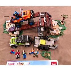 Kyпить Mega Bloks Jeep Wrangler Off Road Adventure Set 97804 97832 with Manuals на еВаy.соm