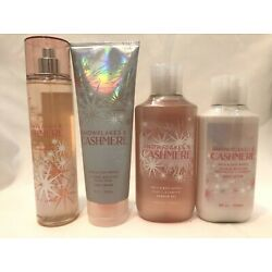 Kyпить Bath & Body Works SNOWFLAKES & CASHMERE Mist Lotion Cream Shower Gel You Choose  на еВаy.соm