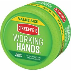 Kyпить O'Keeffe's Working Hands Hand Cream Value Size, 6.8 oz., Jar на еВаy.соm