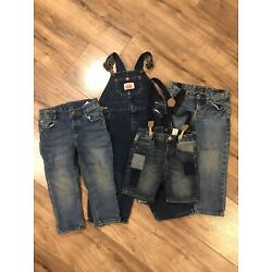 Kyпить Fair Condition Kid's Denim | H&M | & Denim | Ralph Lauren | Round House Overalls на еВаy.соm