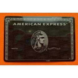 Kyпить American Express Centurion Black card. Authentic. Ultra RARE ! Collectible. на еВаy.соm