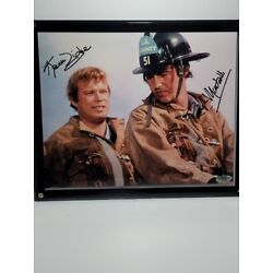 Kyпить Randolph Mantooth Kevin Tighe Emergency  Signed 8x10 Picture Photo COA Autograph на еВаy.соm