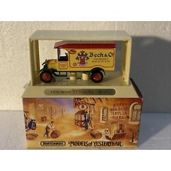 1926 Model TT Ford Van Beck's YGB02 Matchbox Great Beers of the World
