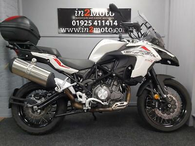 BENELLI TRK502 X 2019 FITTED WITH A TOP BOX AND ONLY 101 MILES ON THE CLOCK