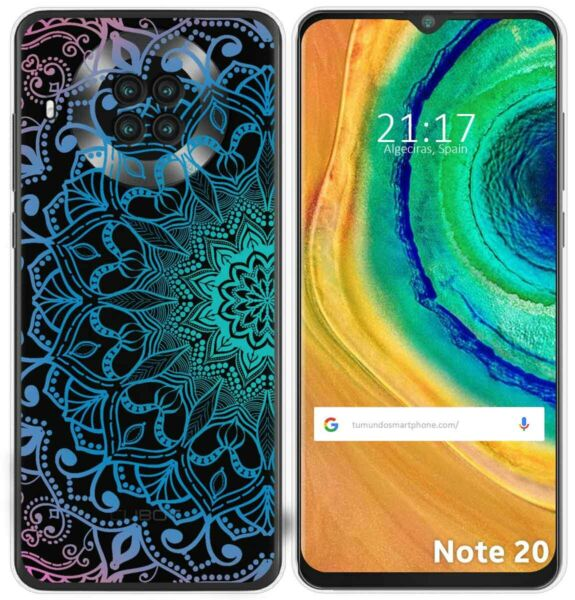SpanienHülle Gel Transparent Für Cubot Note 20 Design  Muster