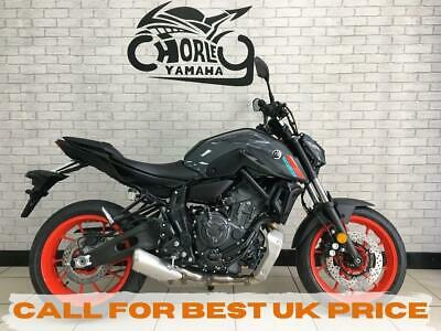 YAMAHA MT-07    NAKED STREETBIKE,2021 MODEL,LOW RATE FINANCE,A2 FRIENDLY