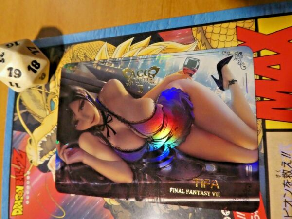 FrankreichACG ANIME CUSTOM FAN CARD N4P PRISM HOLO PIXEL CARTE GIRL 9 SEXY  NEW MINT