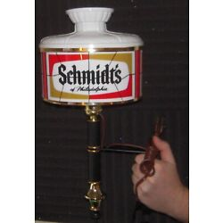 Kyпить TWO Vintage SCHMIDT'S BEER SIGN ADVERTISING WALL SCONCE LAMPS на еВаy.соm