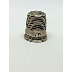 Kyпить Antique Vintage Sterling Ladies Thimble Size 11 Marked Sterling Old Antique  на еВаy.соm