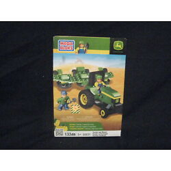 Kyпить 2012 MEGA BLOKS JOHN DEERE 133 PIECES 2 VEHICLES,2FIGURES,2 TOOLS NEW IN BOX на еВаy.соm