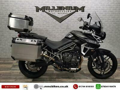 2019 (69) TRIUMPH TIGER 800 XRX ONLY 1825 MILES WITH 3 PART LUGGAGE