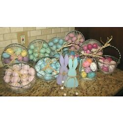 Kyпить Easter Spring Eggs Ornaments Basket Sign Tiered Tray Decor Martha Stewart Fao  на еВаy.соm