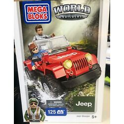 Kyпить Mega Bloks World Builders Jeep Wrangler Building Set 97803 NEW IN BOX 125 PCS на еВаy.соm