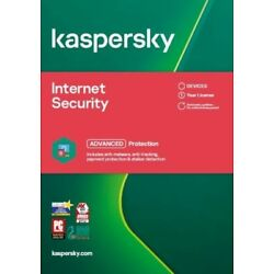 Kyпить Kaspersky Internet Security 2021 - 1, 3, 5, 10 PC / Geräte - Sofort per Email на еВаy.соm
