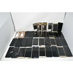 Kyпить Lot of 33 Samsung galaxy note broken screens frames for parts or repair на еВаy.соm