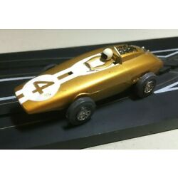 Kyпить Tyco Speedways Lotus MK XXV F-1 Tyco S Slot Car # S626 NICE Gold #4 на еВаy.соm