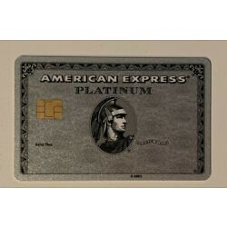 Kyпить American Express Platinum with chip. Authentic. Ultra RARE ! Collectible. на еВаy.соm