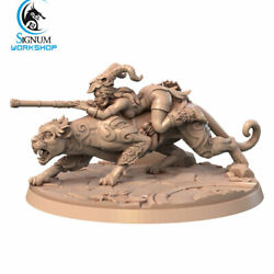 Yasi - Forest Shadow Chult Hunter - Signum Games - Fantasy Dungeons and Dragons
