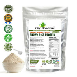 FDC NUTRITION Organic Rice Protein Powder 1.1 LB (Unflavored)