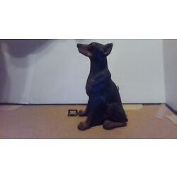 Kyпить Gretchen Paschky 1985 Doberman Dog Candle на еВаy.соm