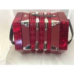Kyпить Johnson FI-120 Anglo-Style 20 Button Concertina, Red With FREE CASE ship fast на еВаy.соm