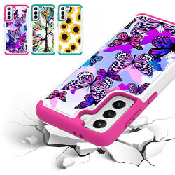 For Samsung Galaxy S21 S20 Note 20 Shockproof Rubber Case Hybrid Hard PC Cover