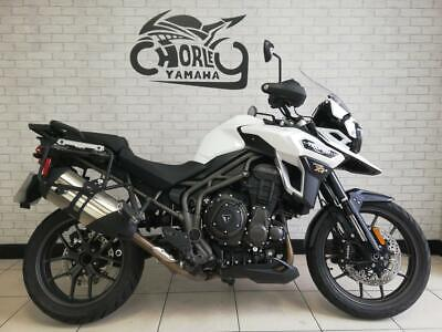 2017/17 TRIUMPH TIGER EXPLORER XRX LOW     10812 MILES,HEATED GRIPS