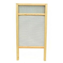 Large Washboard with Galvanized Tin-23 Inches High x 12.25 Inches Wide