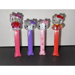 Kyпить Pez Crystal Hello Kitty Set Of 4 на еВаy.соm