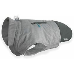 Outward Hound 67642 Silverton Weather Proof Thinsulate Coat for Dogs-Gray, XS