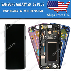 Kyпить Samsung Galaxy S9 | S9 Plus LCD Replacement Screen Digitizer + Frame (A) на еВаy.соm