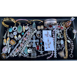 Kyпить A 50 GRAM WHOLESALE LOT RESELL STERLING SILVER 925 JEWELRY ALL WEARABLE NO SCRAP на еВаy.соm