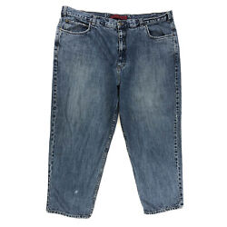 626 Blue Denim Jeans Mens Tag 48x30 Actual 48x29 Straight Leg Relaxed Fit