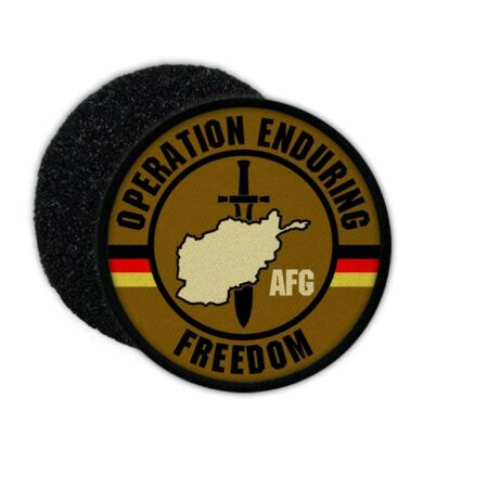 img-Patch Operation Enduring Freedom Bw Afghanistan Bundeswehr Auslands #24588