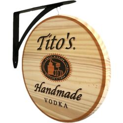 Kyпить Tito's Handmade Vodka - 2 Sided Pub Sign на еВаy.соm