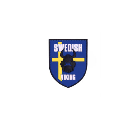 img-3D Rubber Swedish Vikinger Patch Viking Country 7 X 8 CM #26928