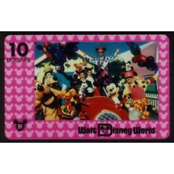 Kyпить Disney Characters, Cast & Parade Float Introductory Prototype PROOF Phone Card на еВаy.соm