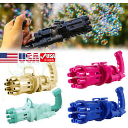 Kyпить Gatling Bubble Machine Bubbler Maker Children's Automatic Bubble Blowing Toy Gun на еВаy.соm