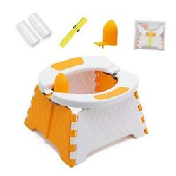 Kyпить  Toddler Portable Potty Training Seat for Kids Baby Foldable Toilet Orange на еВаy.соm